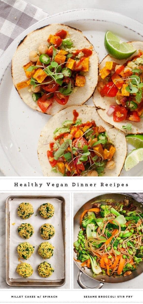 Healthy Vegan Dinner Recipes