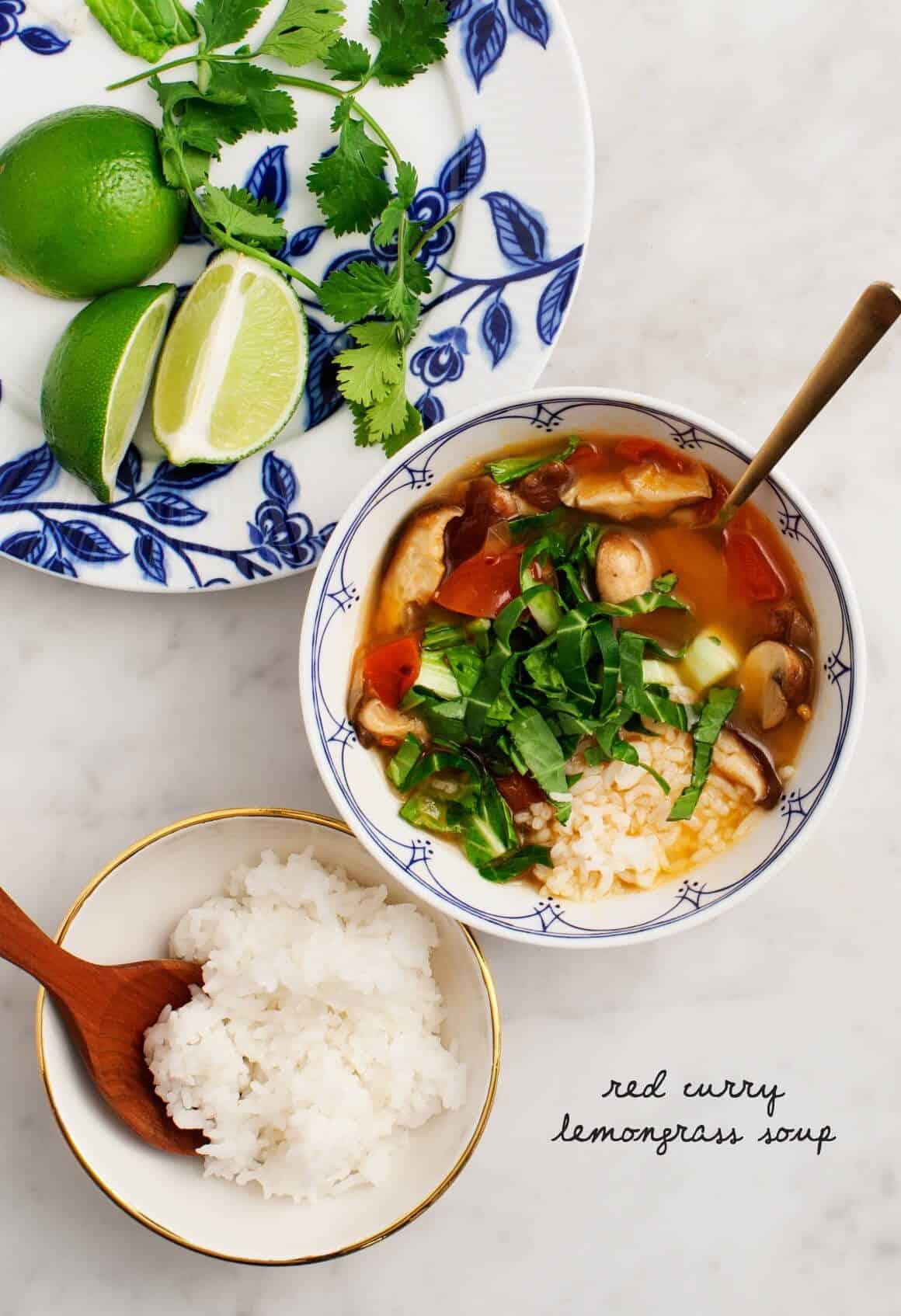 Red Curry Lemongrass Soup