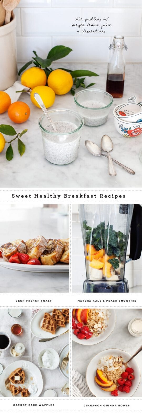 Sweet Healthy Breakfast Recipes