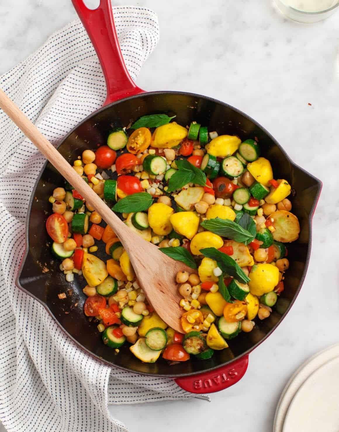 Summer Squash Succotash from The Love & Lemons Cookbook