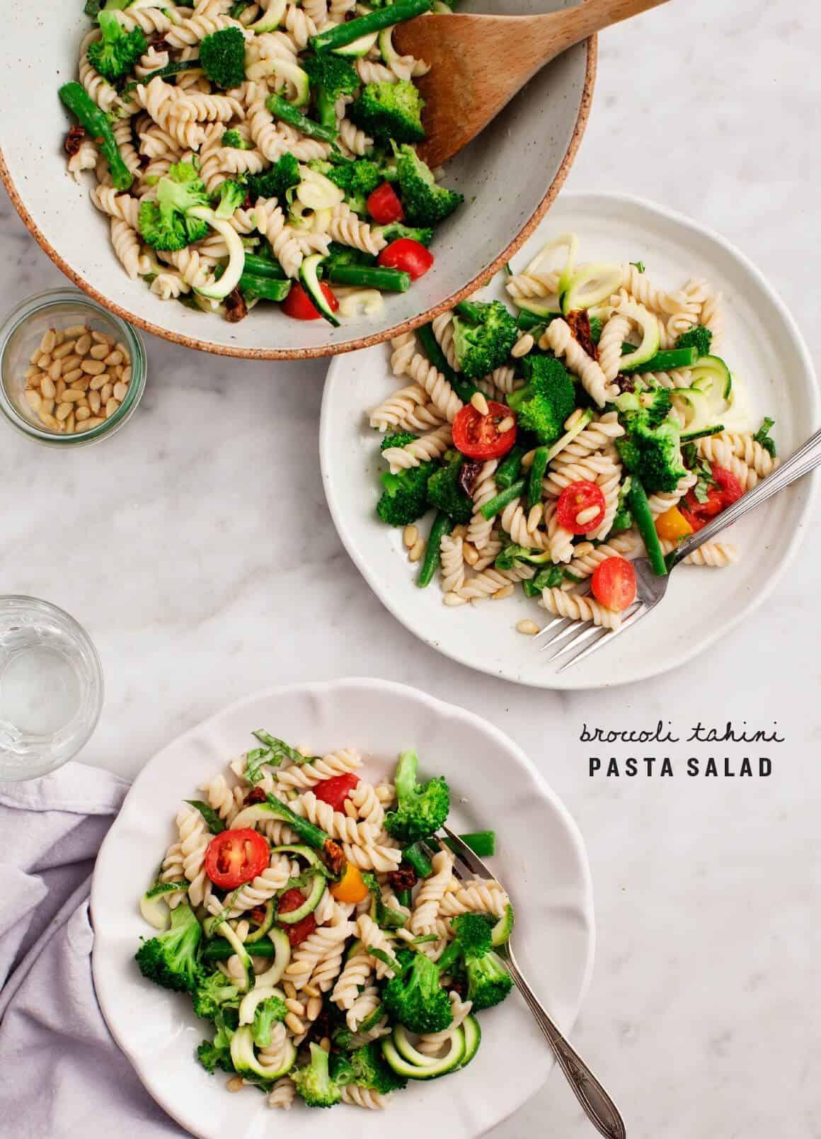 Pasta salad recipe tomatoes broccoli