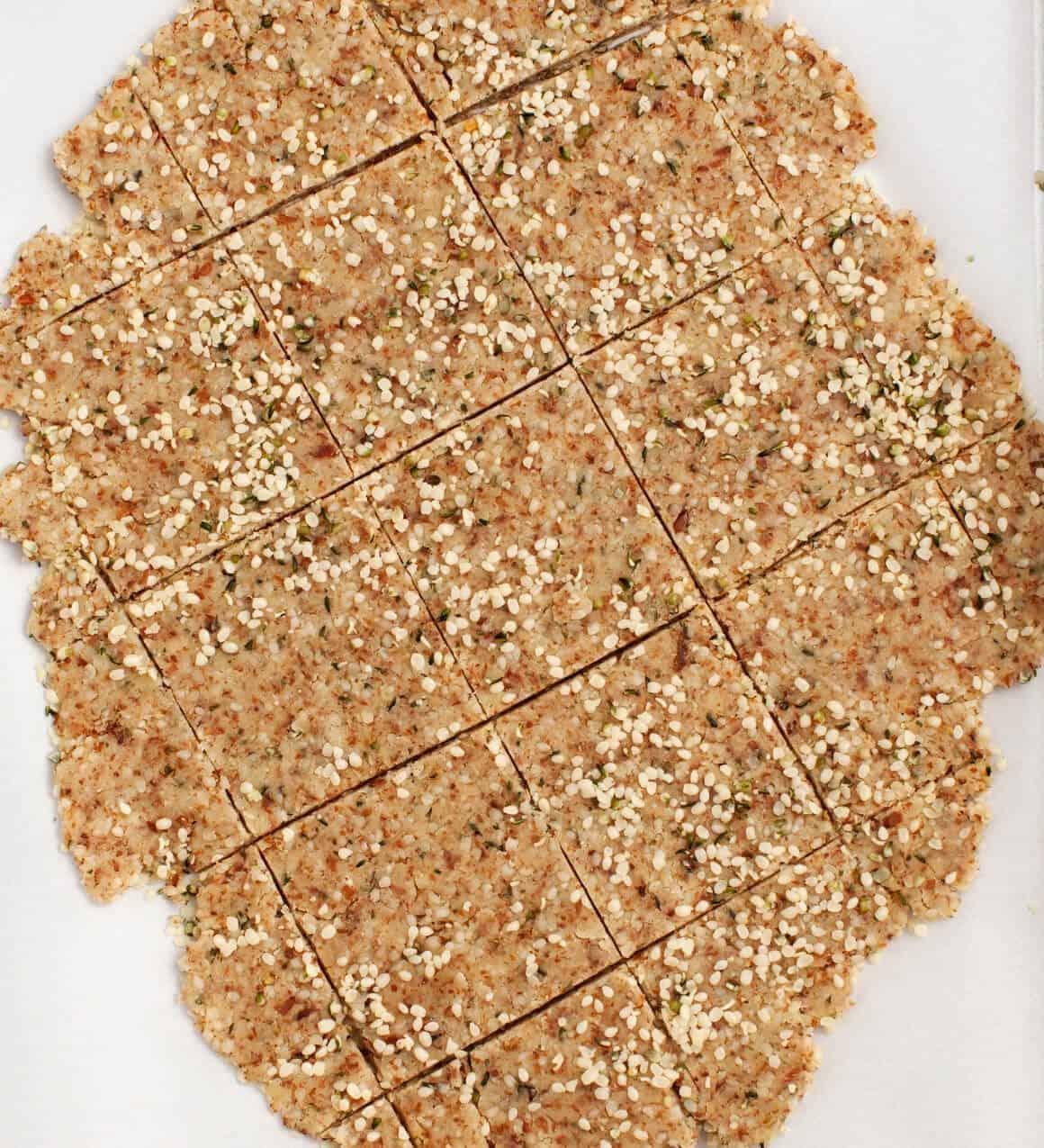 Super Seedy Crackers