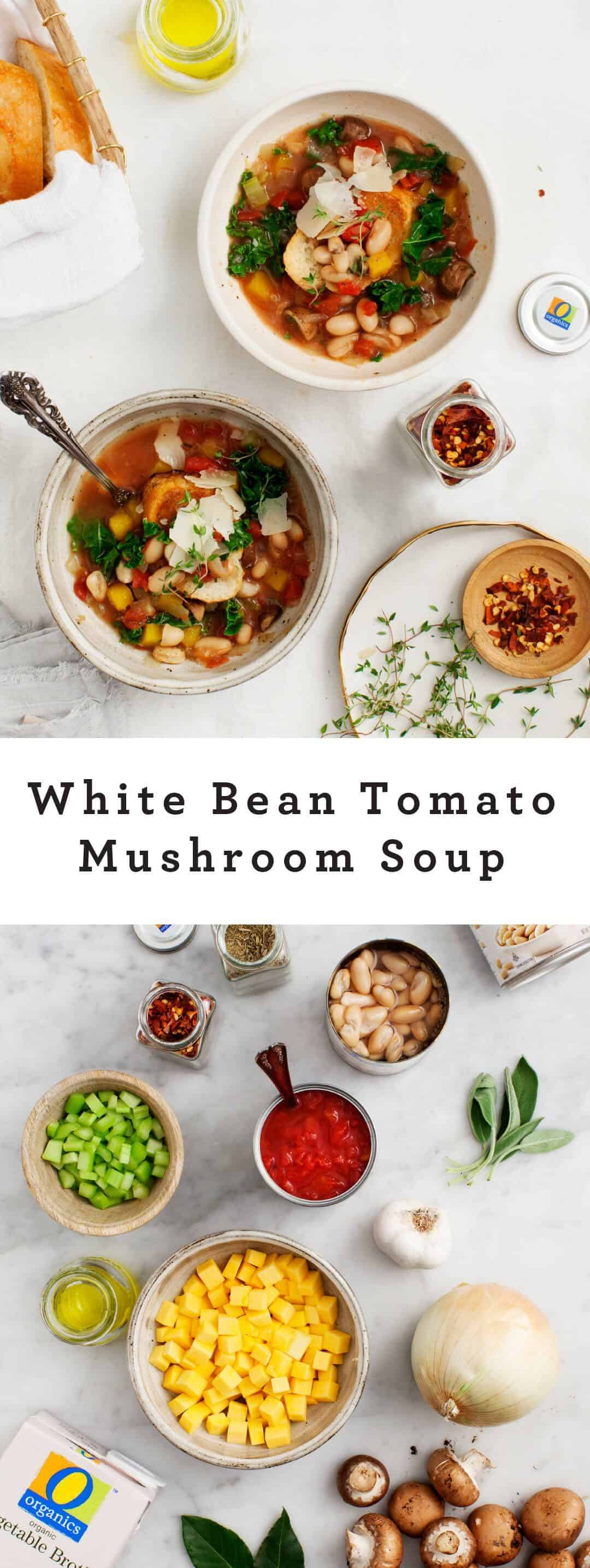 White Bean And Mushroom Stew Recipe — Dishmaps