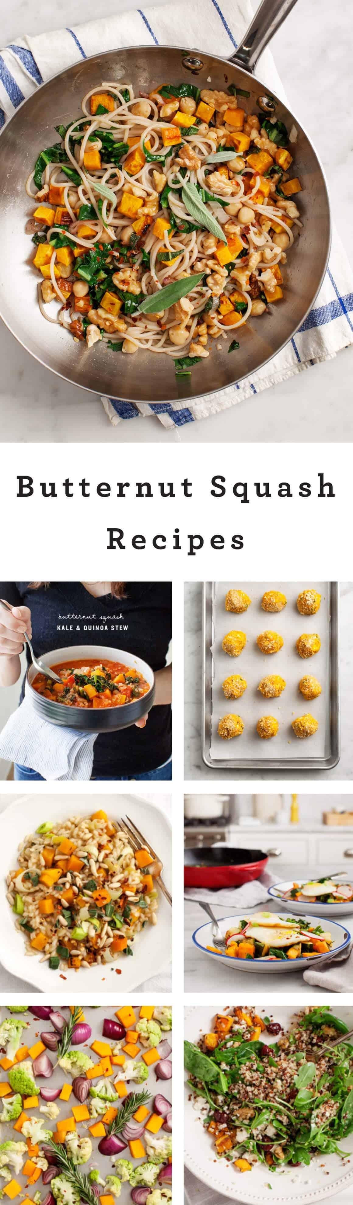 Butternut Squash Recipes / Love & Lemons