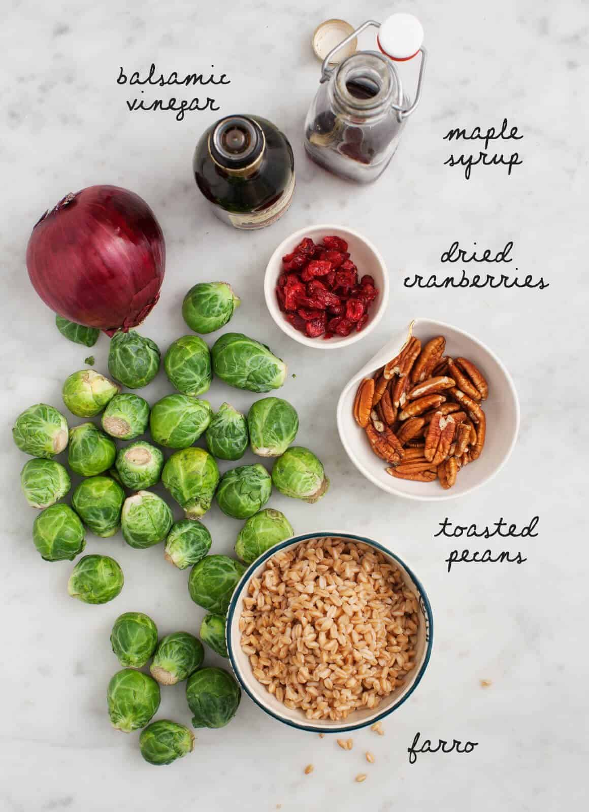 ... bacon pecans and maple balsamic maple balsamic roasted brussel sprouts
