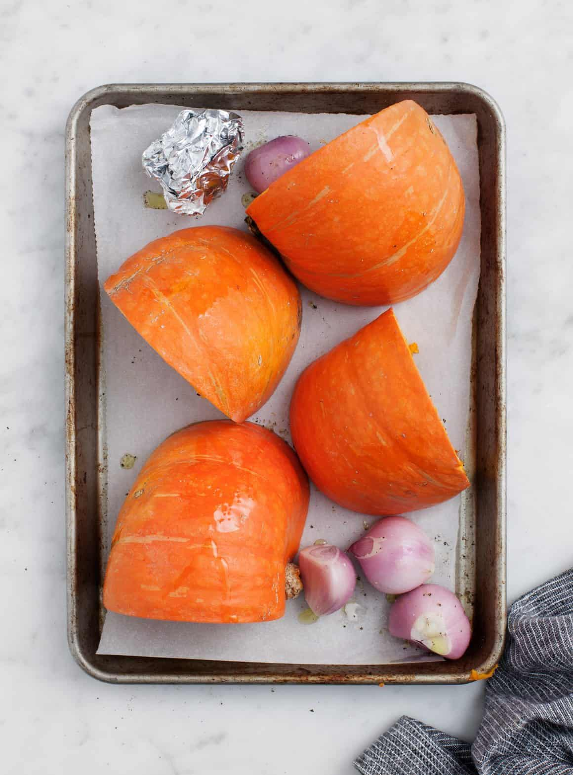 Red Curry Kuri Squash Soup Recipe - Love and Lemons