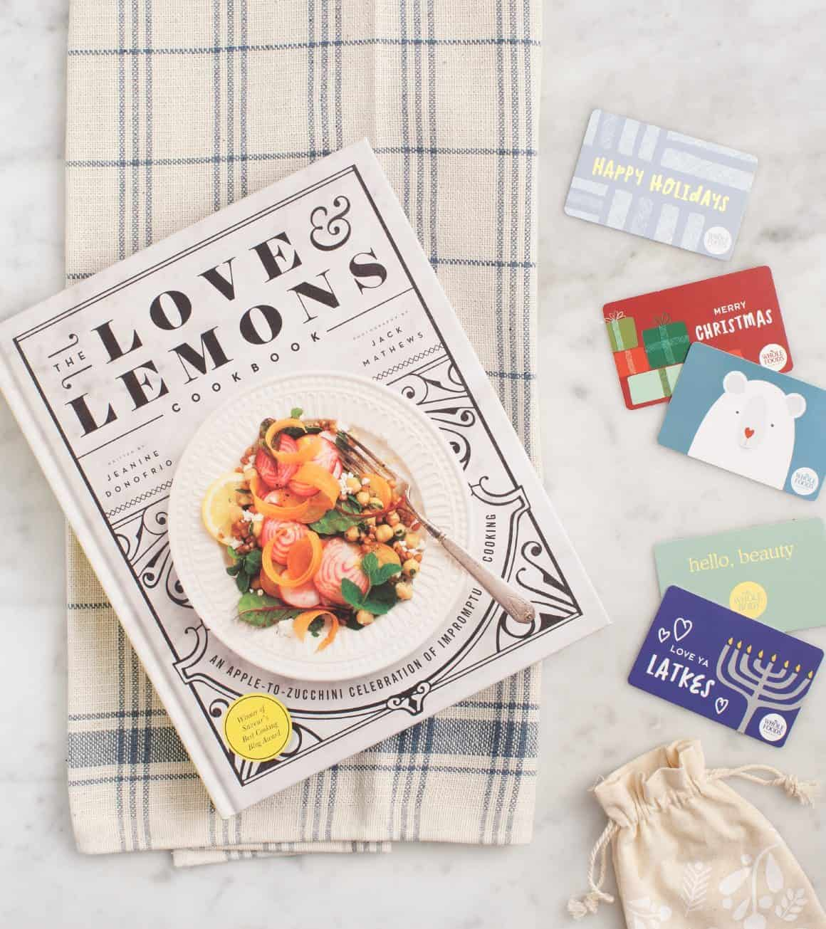 Love & Lemons Cookbook + Whole Foods Market Gift Card Giveaway