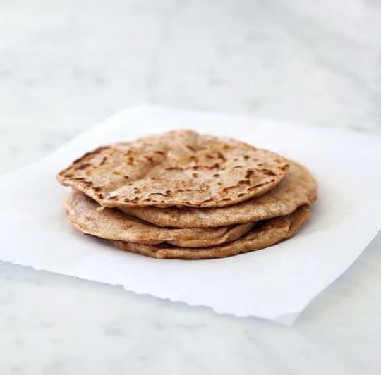 Sweet Potato Hummus Amp Flatbread Recipe Love And Lemons