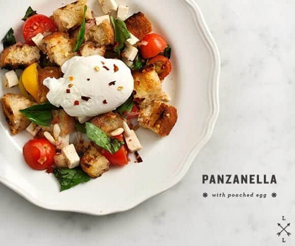 grilled panzanella // loveandlemons.com