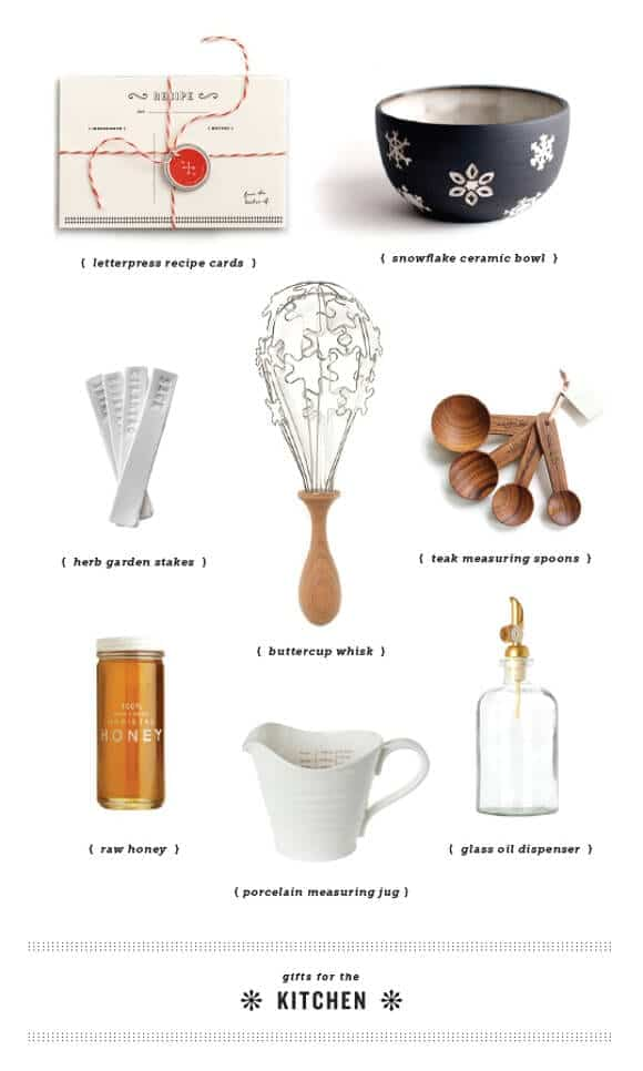 gifts for the kitchen // Love & Lemons