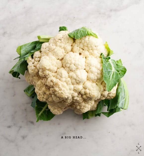 Cauliflower // loveandlemons.com