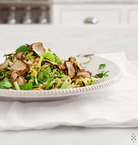 brussels sprout & sunchoke salad // loveandlemons.com