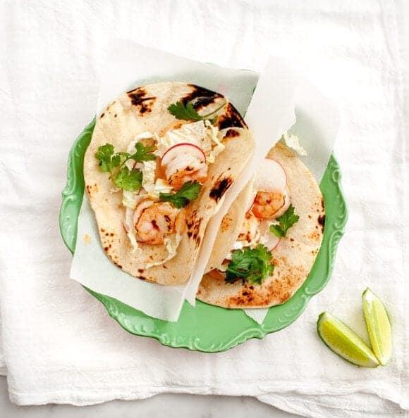 Chipotle Shrimp Tacos // loveandlemons.com