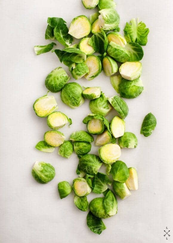 shells & brussels sprouts / loveandlemons.com
