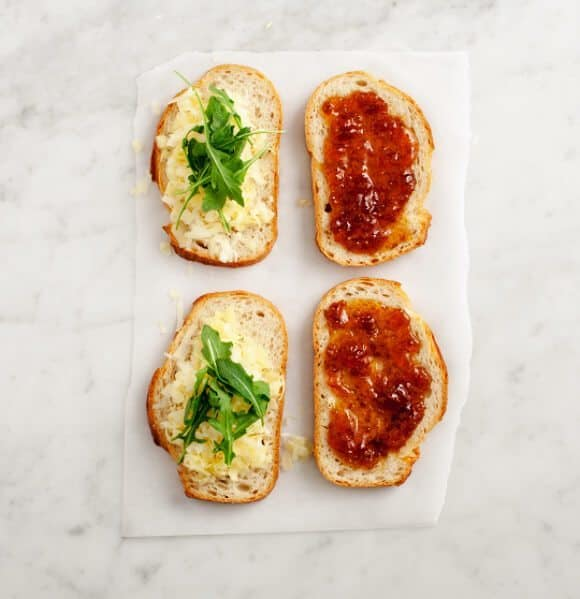 parmesan fig grilled cheese / loveandlemons.com