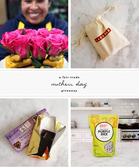 fair trade mother's day giveaway