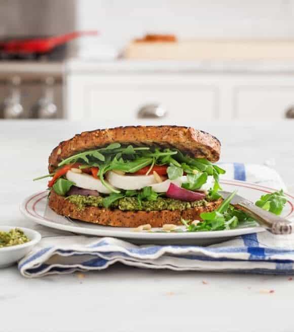 veggie caprese with olive pesto / loveandlemons.com