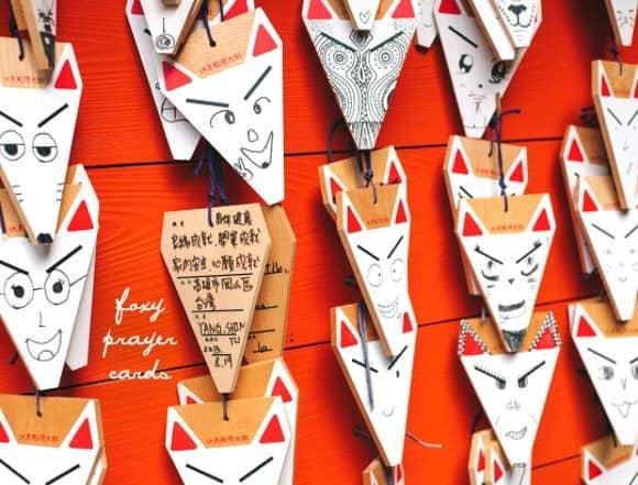 foxy prayer cards // loveandlemons.com