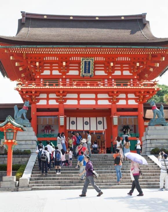 Fushimi Inari-Taisha // loveandlemons.com
