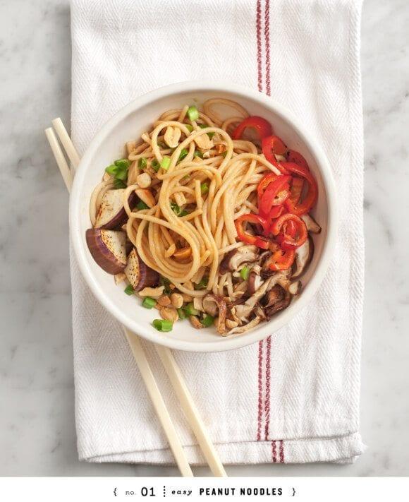 Easy peanut noodle recipe