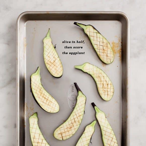 nasu dengaku (miso broiled eggplant) / loveandlemons.com