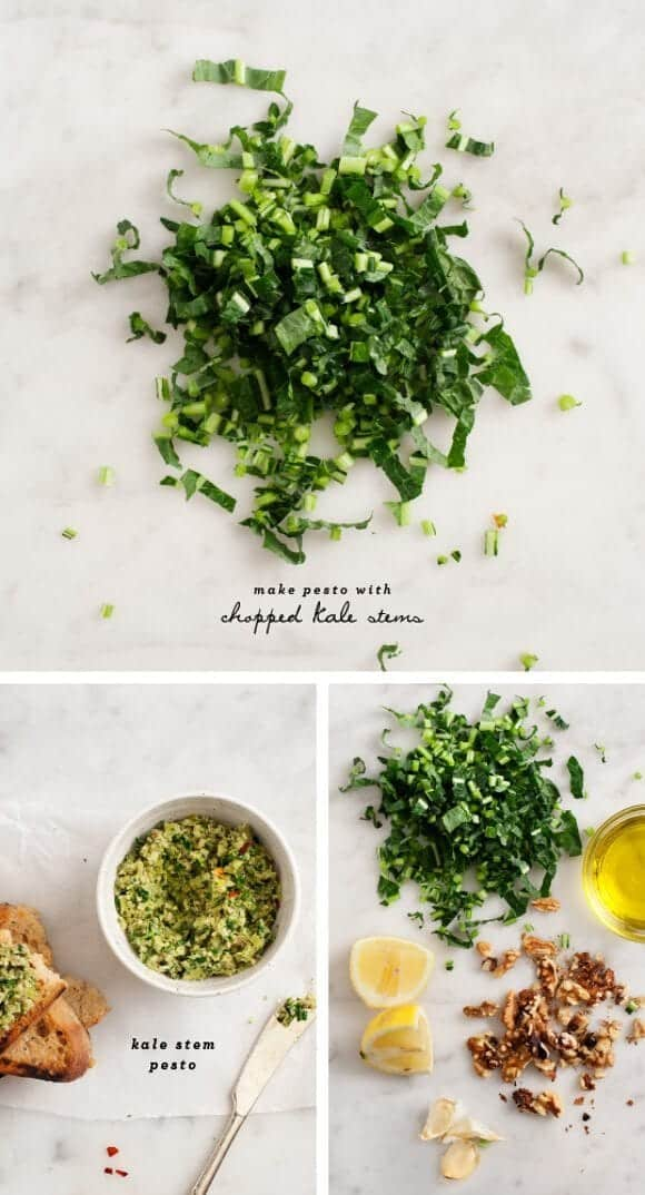 kale stem pesto / loveandlemons.com