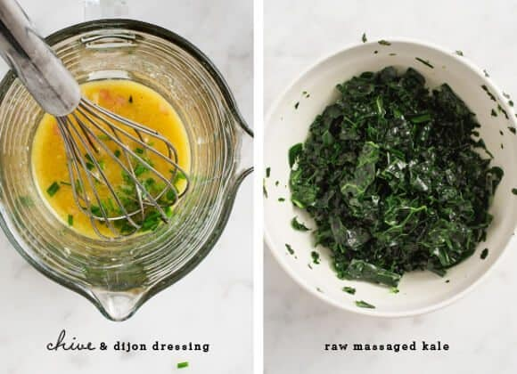 raw kale & apple butternut squash salad / loveandlemons.com
