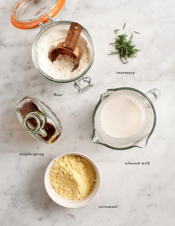 rosemary maple corn muffins / @loveandlemons #vegan