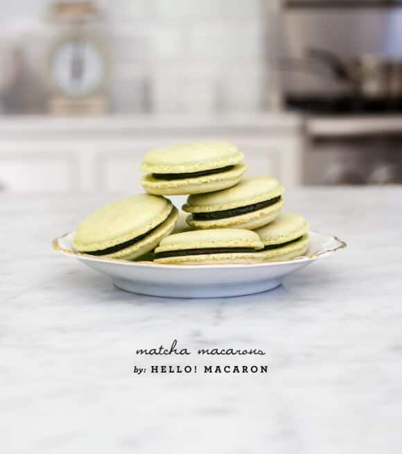 matcha macarons by Hello! Macaron // loveandlemons.com
