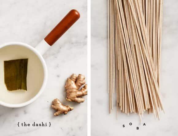 miso soba soup / @loveandlemons
