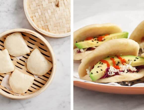 avocado steamed buns / @loveandlemons
