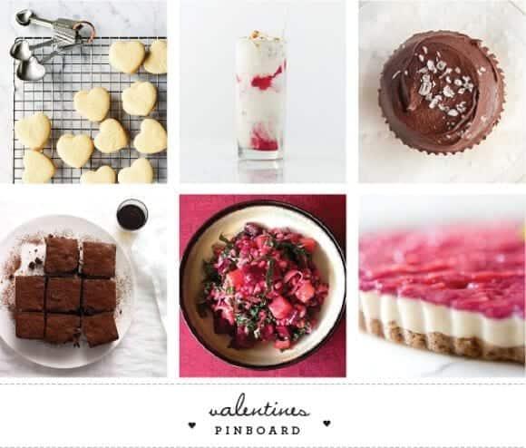 Valentines Pinboard / loveandlemons.com