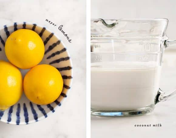 meyer lemon ice cream (vegan) / loveandlemons.com