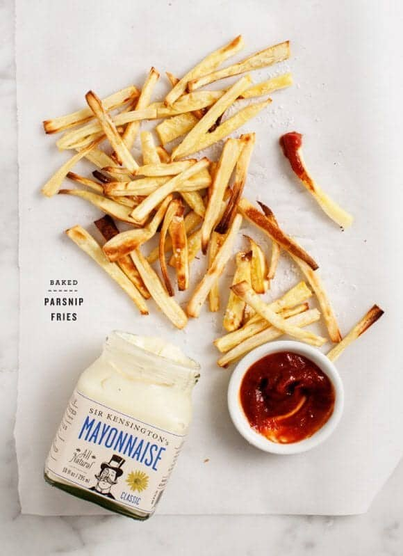 parsnip fries / loveandlemons.com