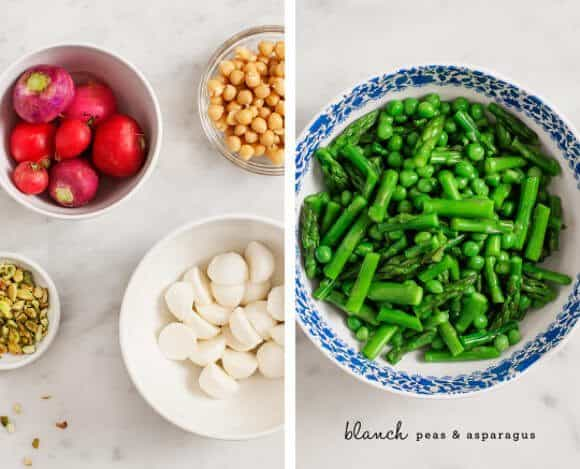 bright spring green salad / loveandlemons.com