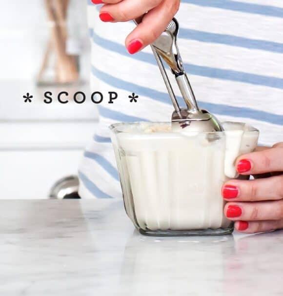 vegan peanut butter bourbon milkshake / loveandlemons.com