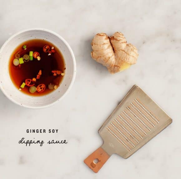 ginger soy dipping sauce / loveandlemons.com