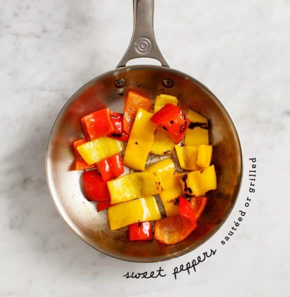 sweet pepper panzanella / loveandlemons.com