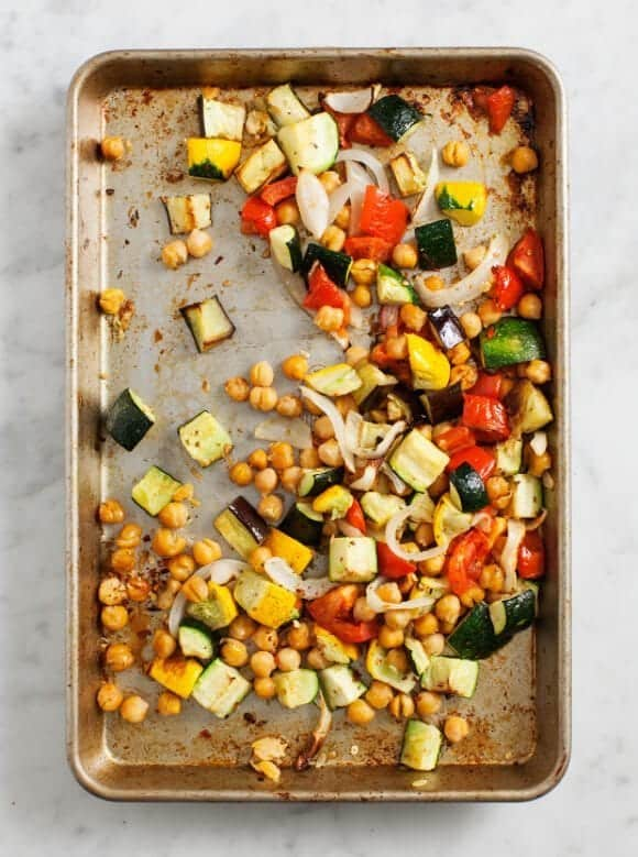 Roasted Chickpea Ratatouille / @loveandlemons #vegan #glutenfree