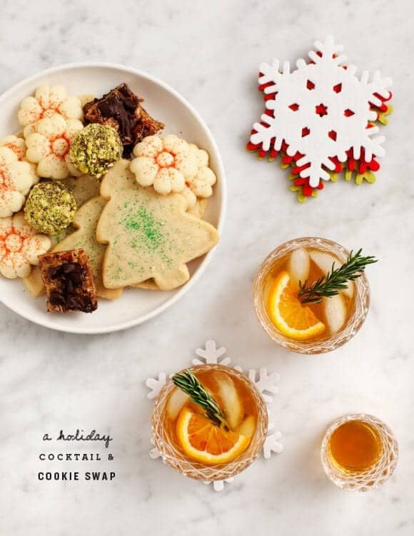 Holiday Cookie Swap / Love & Lemons + Crate & Barrel