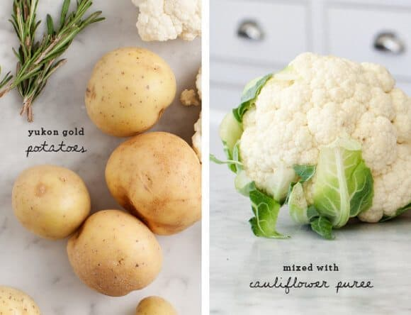 Vegan Cauliflower Mashed Potatoes / @loveandlemons #vegan