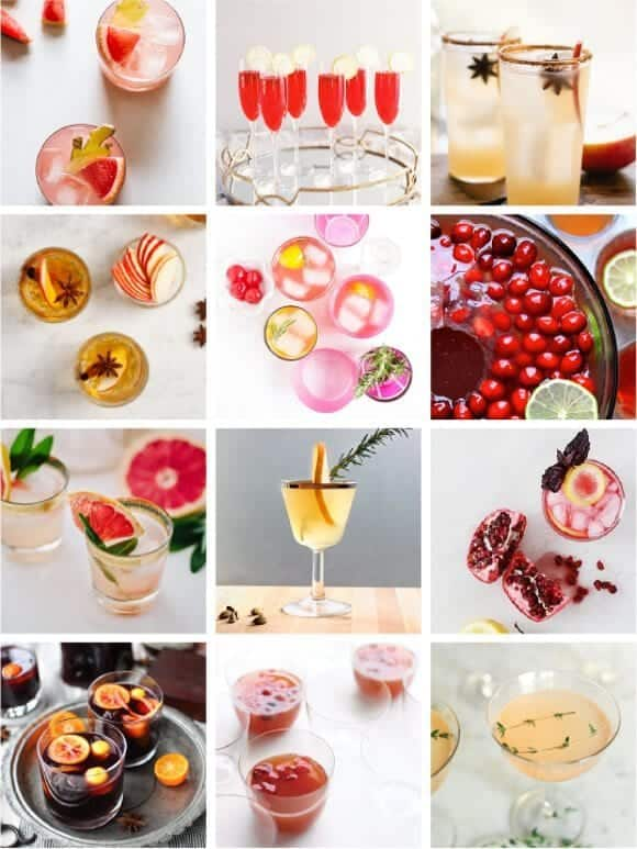 fun & festive cocktail roundup