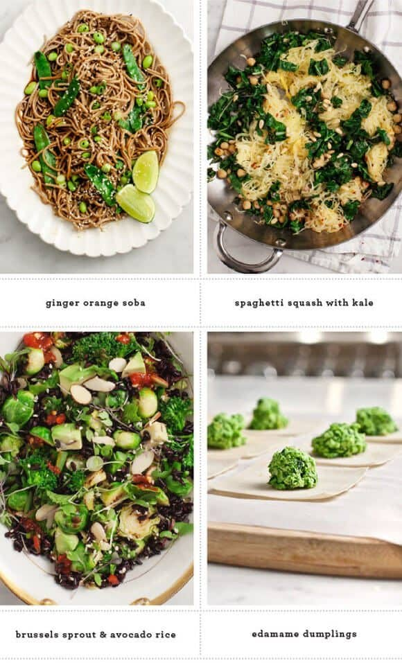 Healthy Green Recipes / @loveandlemons