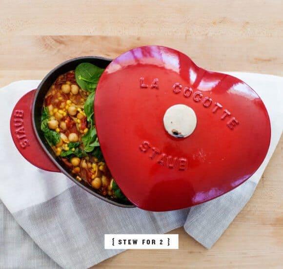 Saffron Couscous & Spinach Stew / www.loveandlemons.com