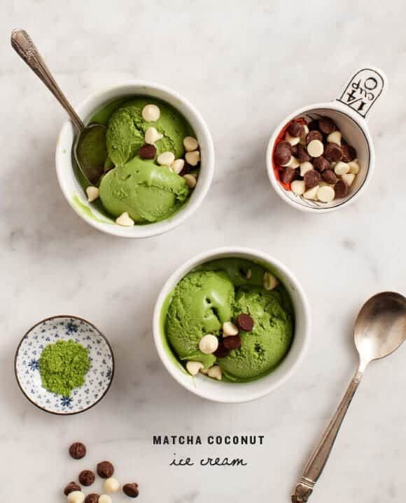 Matcha Coconut Ice Cream / loveandlemons.com