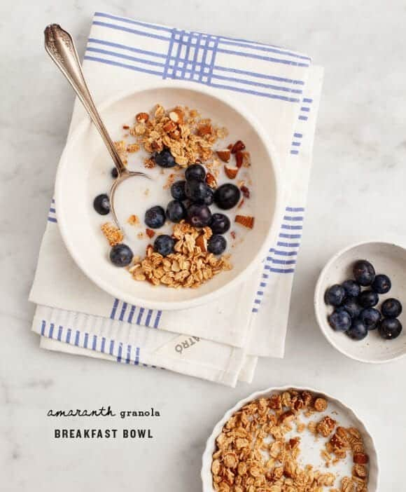 Breakfast Bowl with Amaranth Granola / loveandlemons.com
