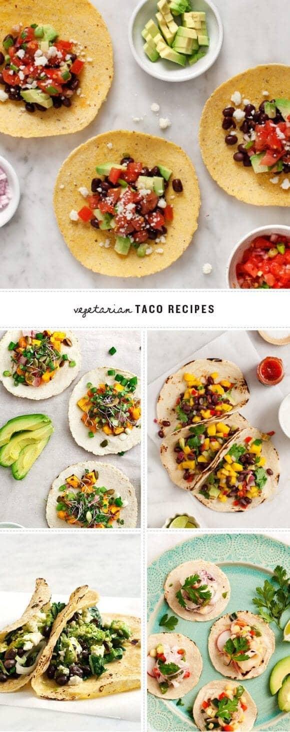 Vegetarian Taco Recipes / www.loveandlemons.com