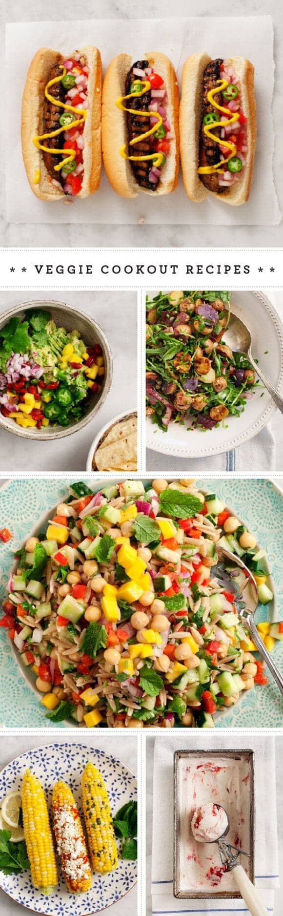 Veggie Cookout Recipes / loveandlemons.com