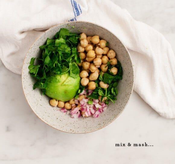 Curried Chickpea Salad Sliders / loveandlemons.com