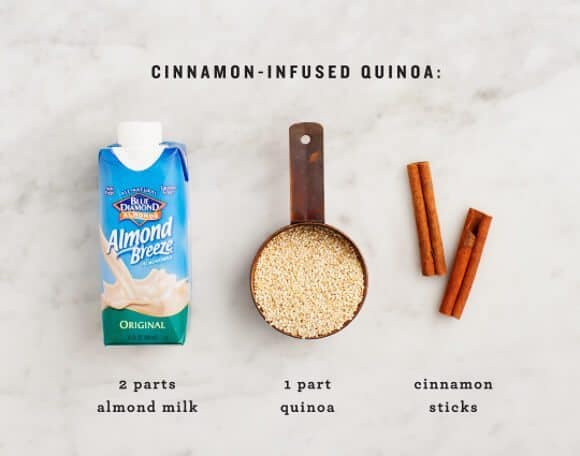 Cinnamon Quinoa Breakfast Bowl / loveandlemons.com